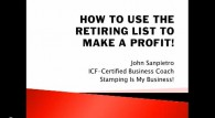 How To Use The Stampin Up Retiring List To Make A Profit