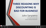 Three Reasons Why Discounting Is Bad For Your Stamping Business