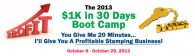 2013 $1K In 30 Days Boot Camp