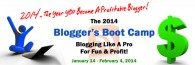 2014 Blogger's Boot Camp